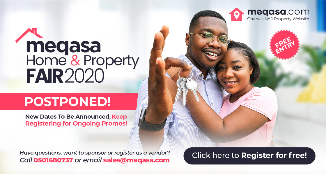 Register for meqasa home & property fair. 4th - 5th April 2020. silver star tower. 9am - 6pm. Free Entry. Please note this fair is postponed until further notice