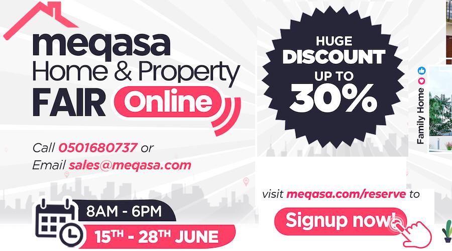 meqasa online housing fair as a result of coronavirus