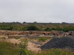 serviced land for sale at PRAMPRAM/ 1212 JUNCTION