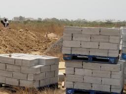 serviced land for sale at Prampram moderate land prices