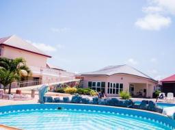 43 bedroom furnished guest house for sale at Kasoa