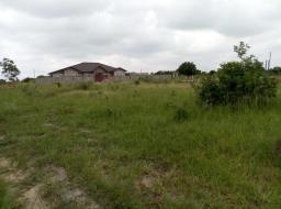 serviced land for sale at Afienya
