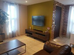 4 bedroom furnished townhouse for rent at Trade Fair