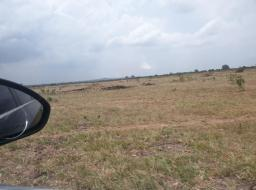 serviced land for sale at Shai Hills -  8 MINUTE DRIVE FROM AFIENY