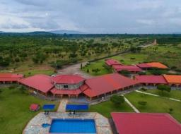 30 room commercial space for sale at Akosombo