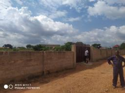 serviced land for sale at Amanfrom