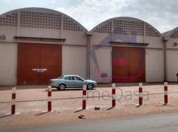 2 room commercial space for rent at Tema
