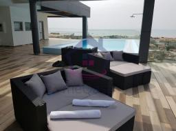 3 bedroom furnished apartment for rent at Labadi