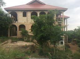 serviced land for sale at Aburi
