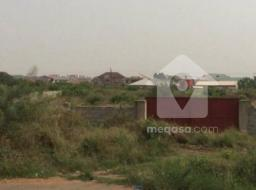 serviced land for sale at Spintex