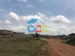 serviced land for sale at East Legon Hills