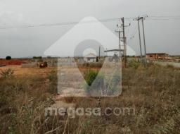 serviced land for sale at Dawhenya
