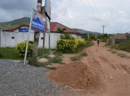 land for sale at Pokuase