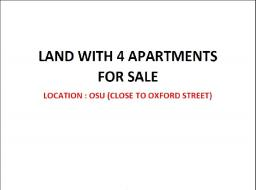 serviced land for sale at Osu