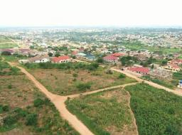 serviced land for sale at Pokuase Heights