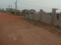 serviced land for sale at Quartey Papafio hills