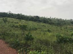 serviced land for sale at Aburi behind Adonteng secondary school