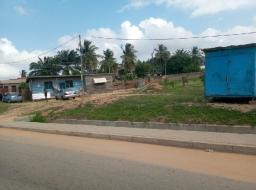 serviced land for sale at Mallam Junction