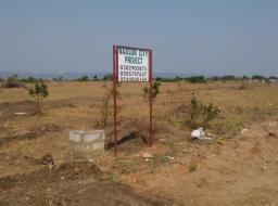 serviced land for sale at SHAI HILLS/AFIENYA ROAD