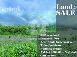 land for sale at Osu